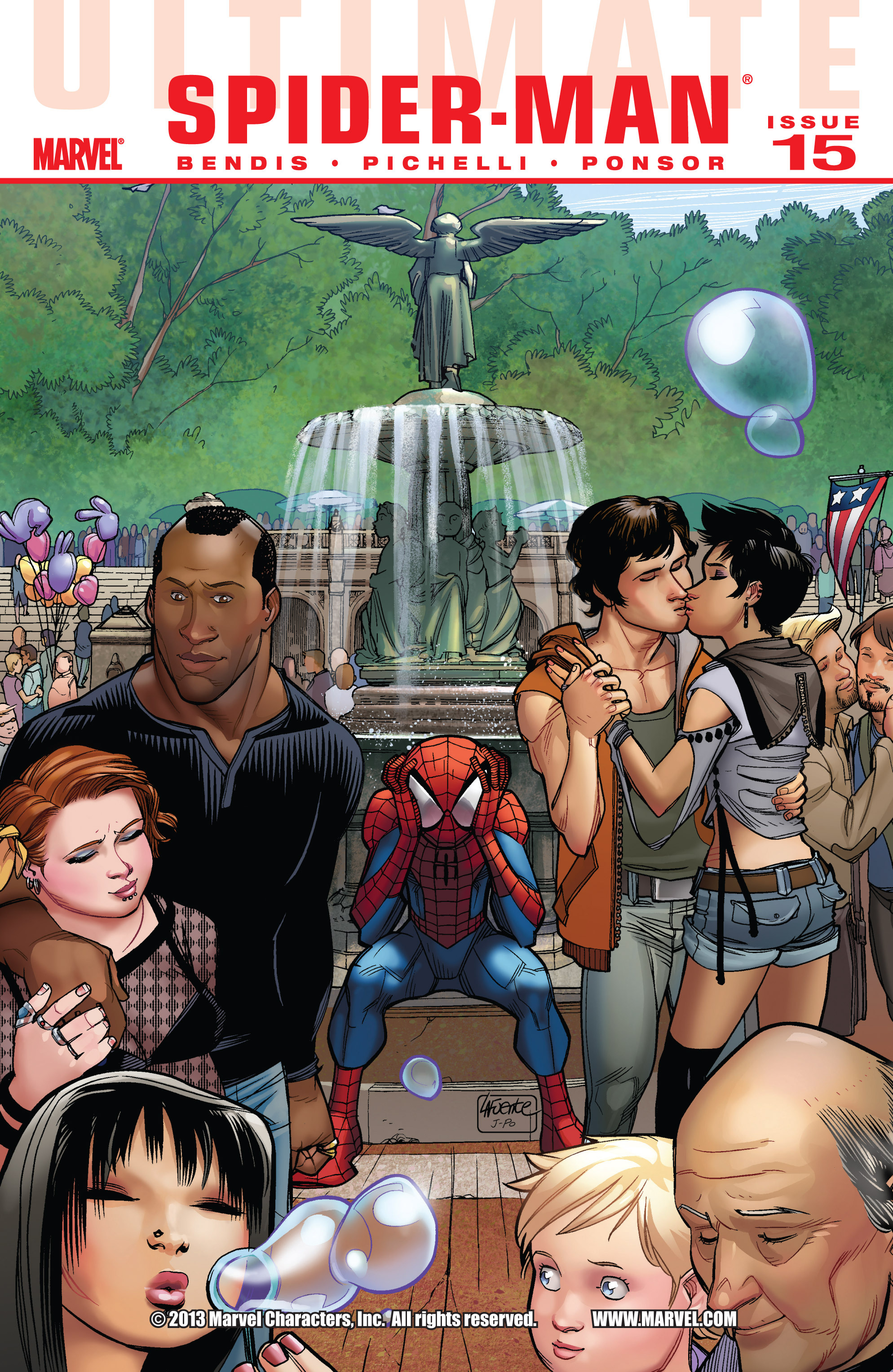 Read online Ultimate Spider-Man (2009) comic -  Issue #15 - 1