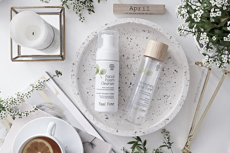 kosmetyki naturalne do pielęgnacji twarzy feel free bio