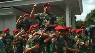 Pesan Jendral Gatot Nurmantyo ke Kopassus: Jangan Pernah Terbeli...