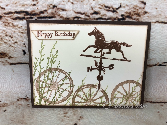 Country Road, Frenchie' Team, Stampin'Up!, New release stamp set in the Annual catalog,