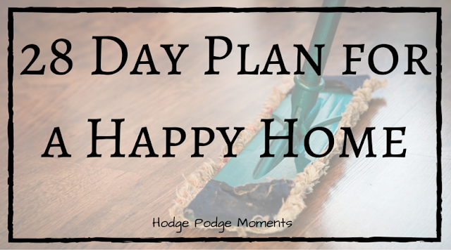 28 Day Plan for a Happy Home