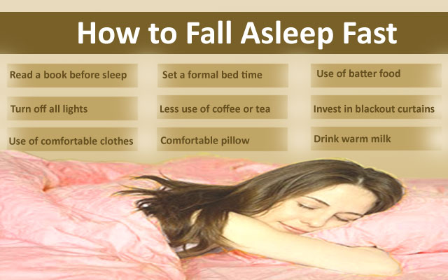 All Natural Ways To Fall Asleep Faster