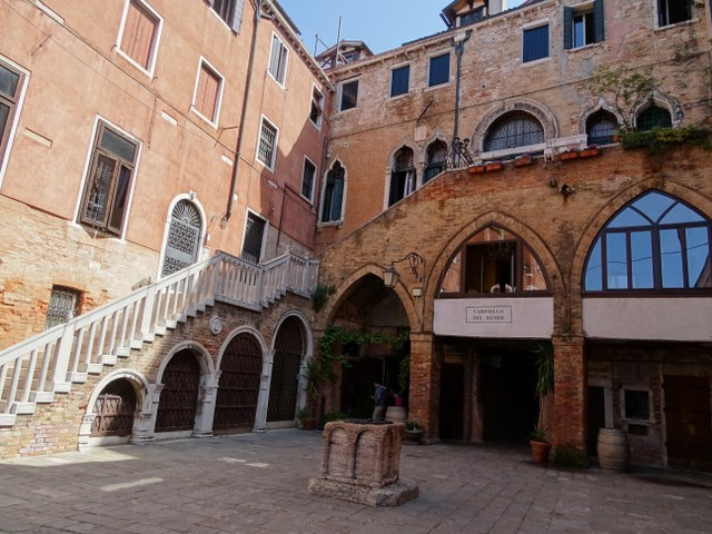 Corte Remer Venecia Gran Canal siglo XIII