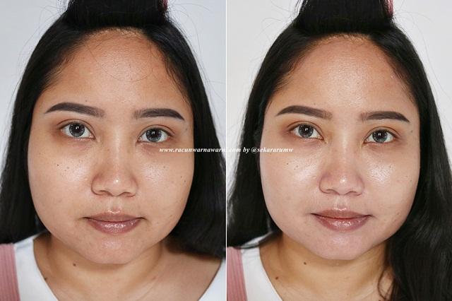 Sebelum dan Sesudah Memakai Sunscreen