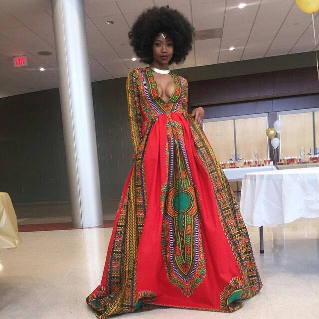 Style4Africa  Trending  Kyemah McEntyre s Unconventional Prom Dress     In addition  seeing a young lady proud enough to represent her African  heritage at her prom is so inspiring to many