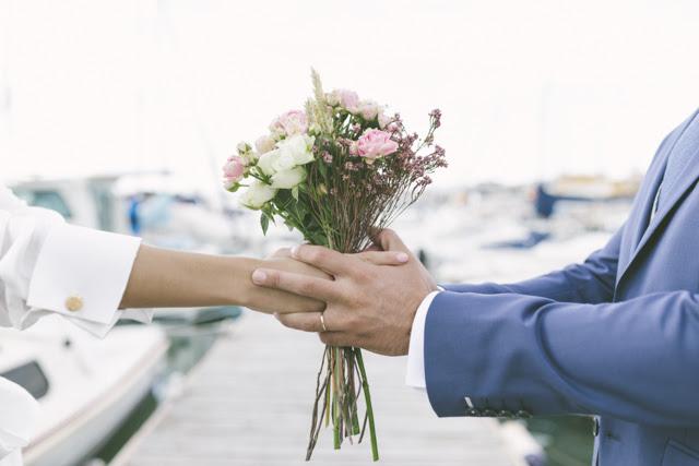 jessie y salva una boda diferente llena de estilo