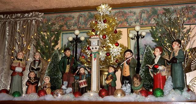 Christmas Home Tour, Living Room , Vignettes, 2019