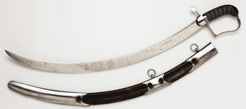 7 pedang yang ditempa dari batu luar angkasa Benda Pusaka yang Dibuat dari Batu Meteor