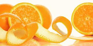 Kulit Putih dengan kulit jeruk