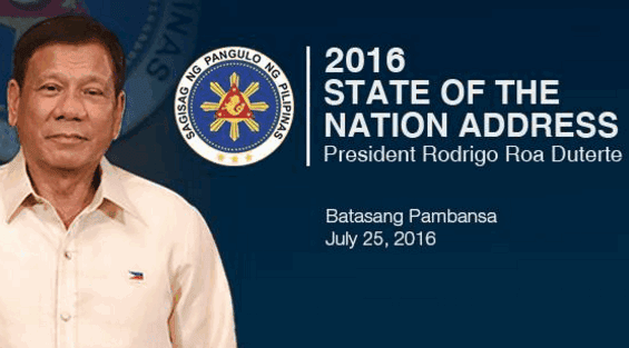Duterte SONA 2016