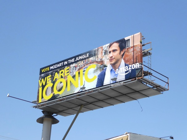 Mozart in Jungle iconic Emmy billboard