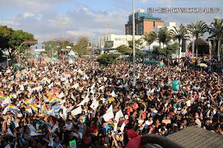 IMG 9921 - 13ª Parada do Orgulho LGBT Contagem reuniu milhares de pessoas