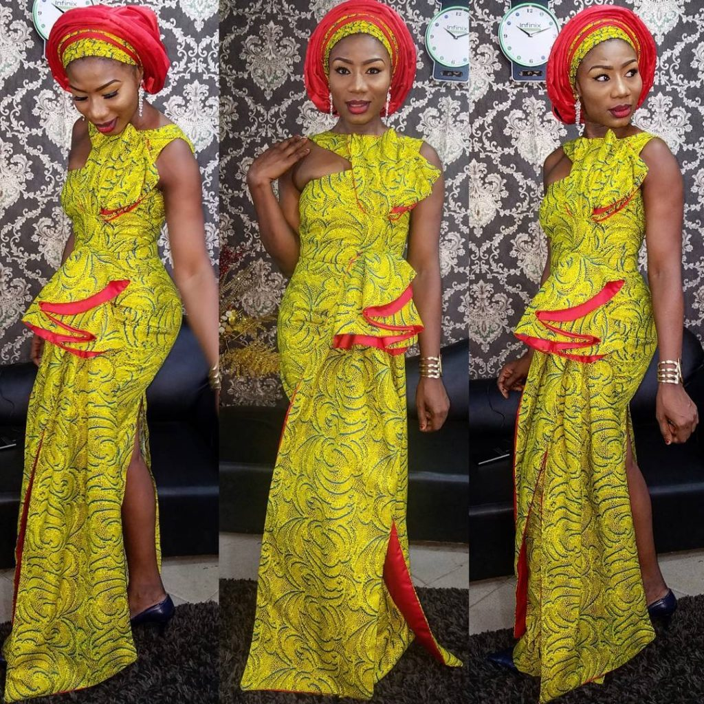 List of Synonyms and Antonyms of the Word: nice ankara styles gown