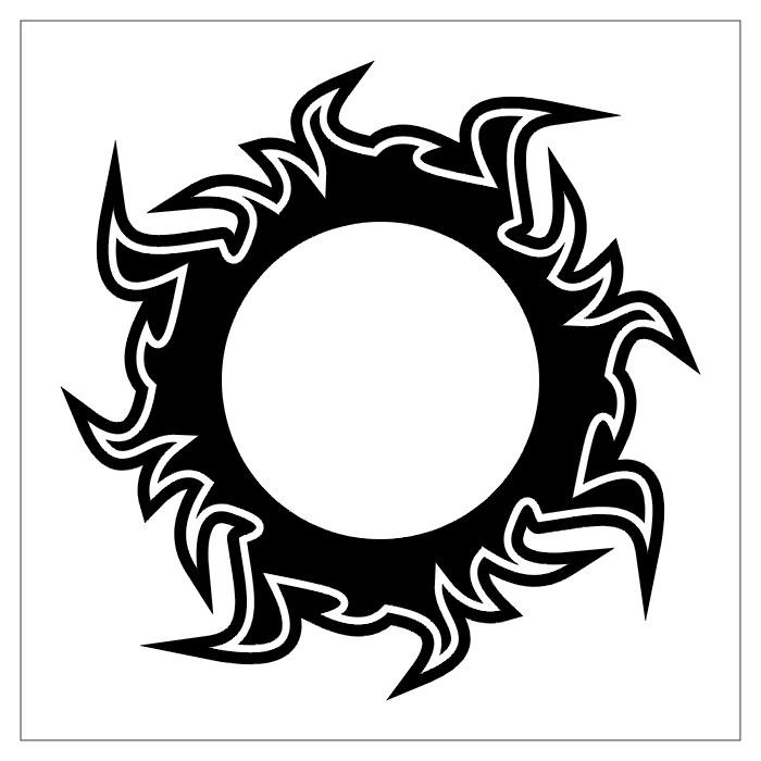 TATTOOS: Circular Tattoo Stencils # 2