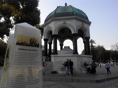 Wisata Istanbul - German Fountain