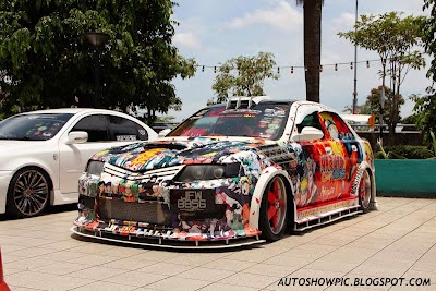Creative-cars: Custom Modified Naruto Waja