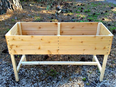 Elevated Raised Herb Planter Bed