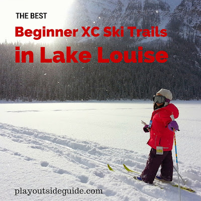 The Best Beginner Cross Country Ski Trails In Lake Louise