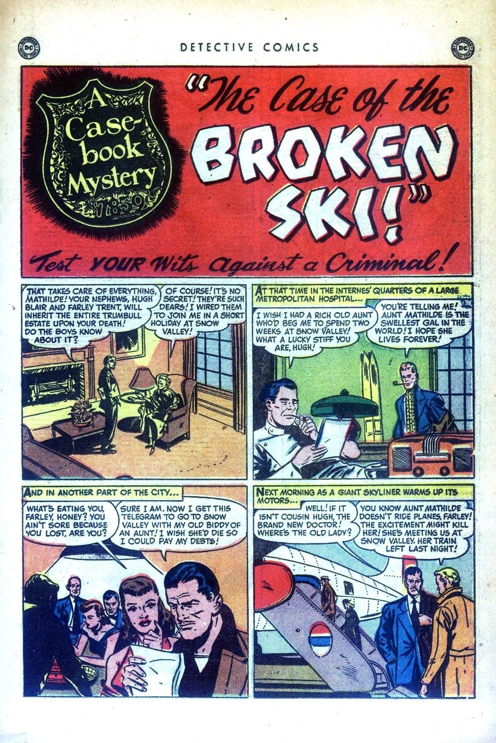 Read online Detective Comics (1937) comic -  Issue #169 - 27