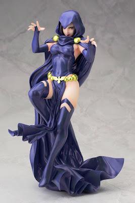 "Figuras: Imágenes de Raven's Bishoujo 2nd edition de ""Teen Titans"" Kotobukiya"