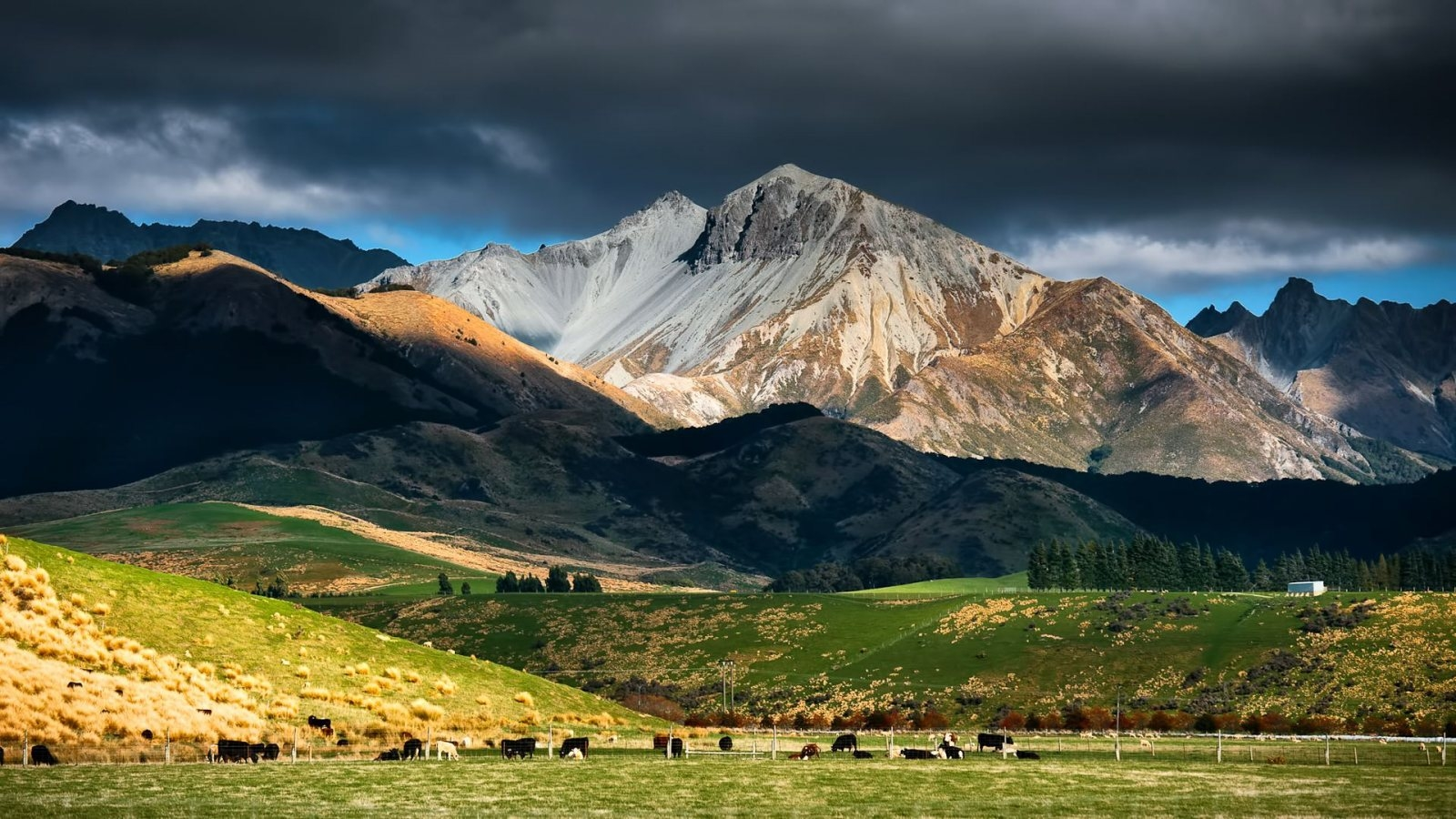 Mountains Hd Widescreen High Res Backgrounds Images For