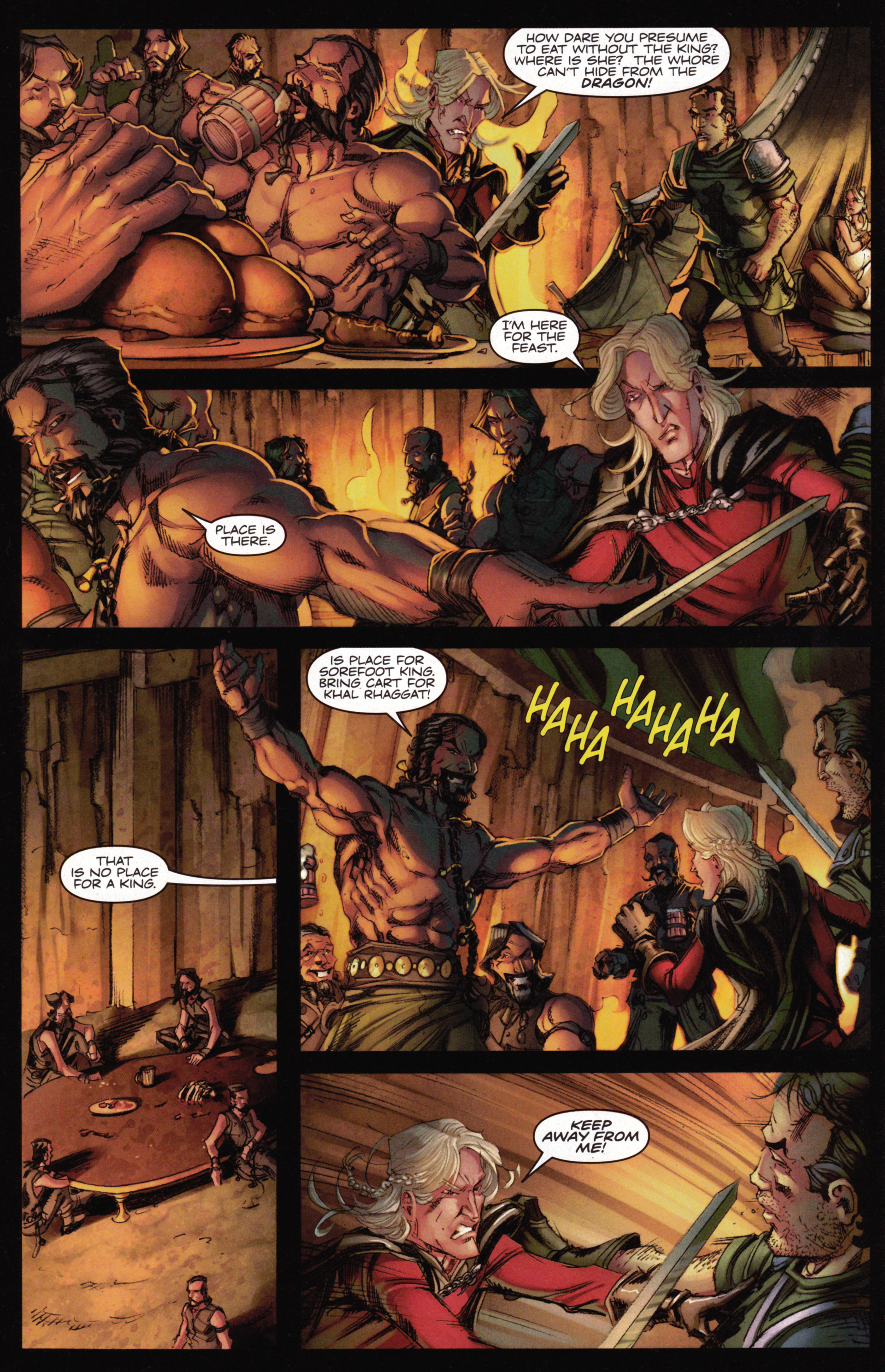 Read online A Game Of Thrones comic -  Issue #15 - 28