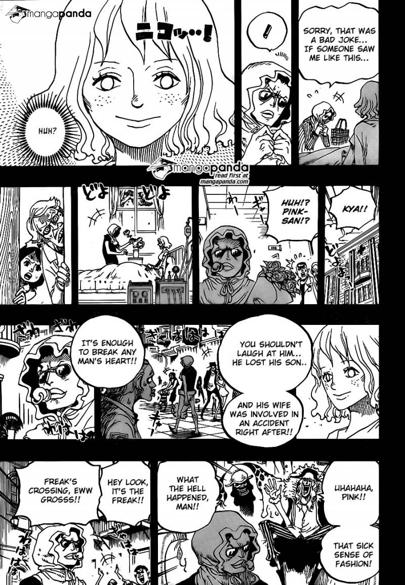 One Piece Ch 775: To Lucy Anne, With Love