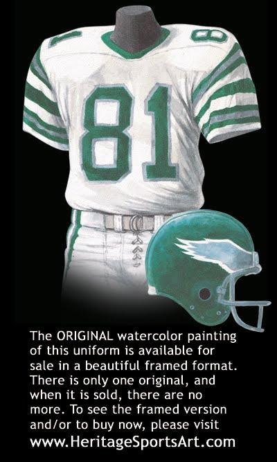 Philadelphia Eagles Uniform And Team History Heritage