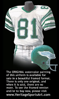 Philadelphia Eagles 1980 uniform