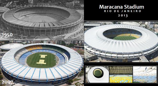 Curiosidades del Estadio Maracana