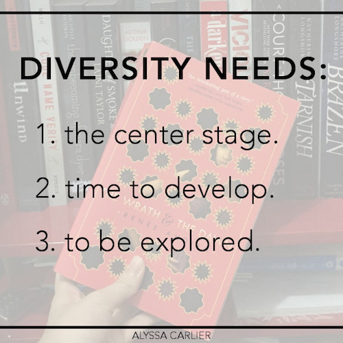 What diverse representation needs and why diverse books cannot be too ambitious