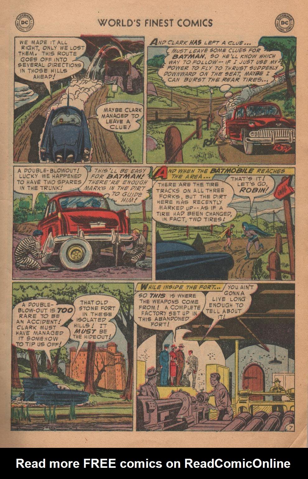 Read online World's Finest Comics comic -  Issue #72 - 9
