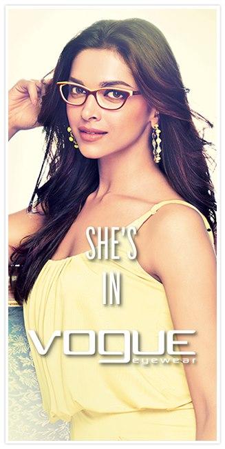 Filmi Hub  Deepika Padukone s Beautiful look in Vogue Eyewear 848e01a034