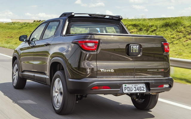 Fiat Toro: elevação de preços em todas as versões
