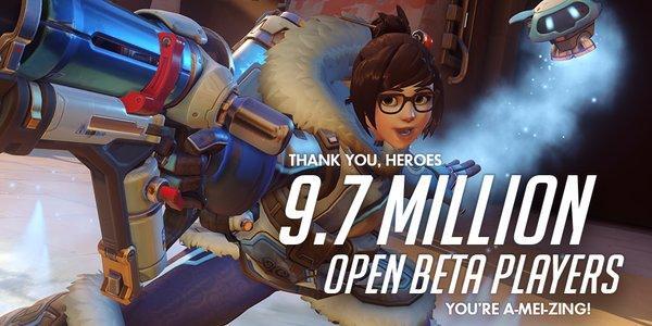 بيتا لعبة Overwatch الناجحة جذبت قرابة 10 مليون لاعب