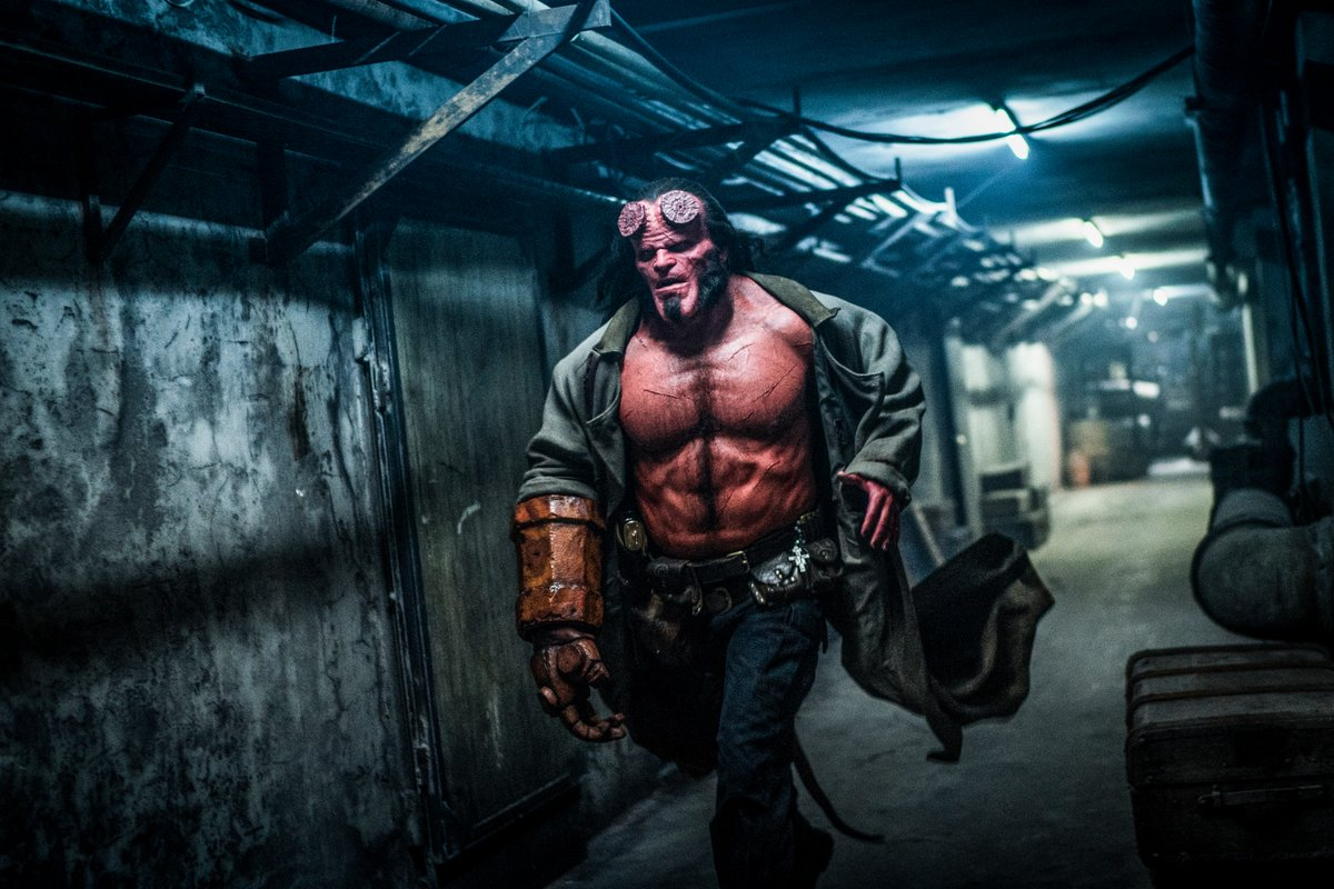 Hellboy Movie Still Lobster Johnson In 112th Seen At Dcon2018
