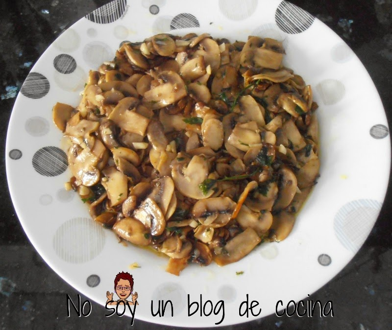 Champiñones Al Ajillo No Soy Un Blog De Cocina