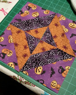 completed halloween top