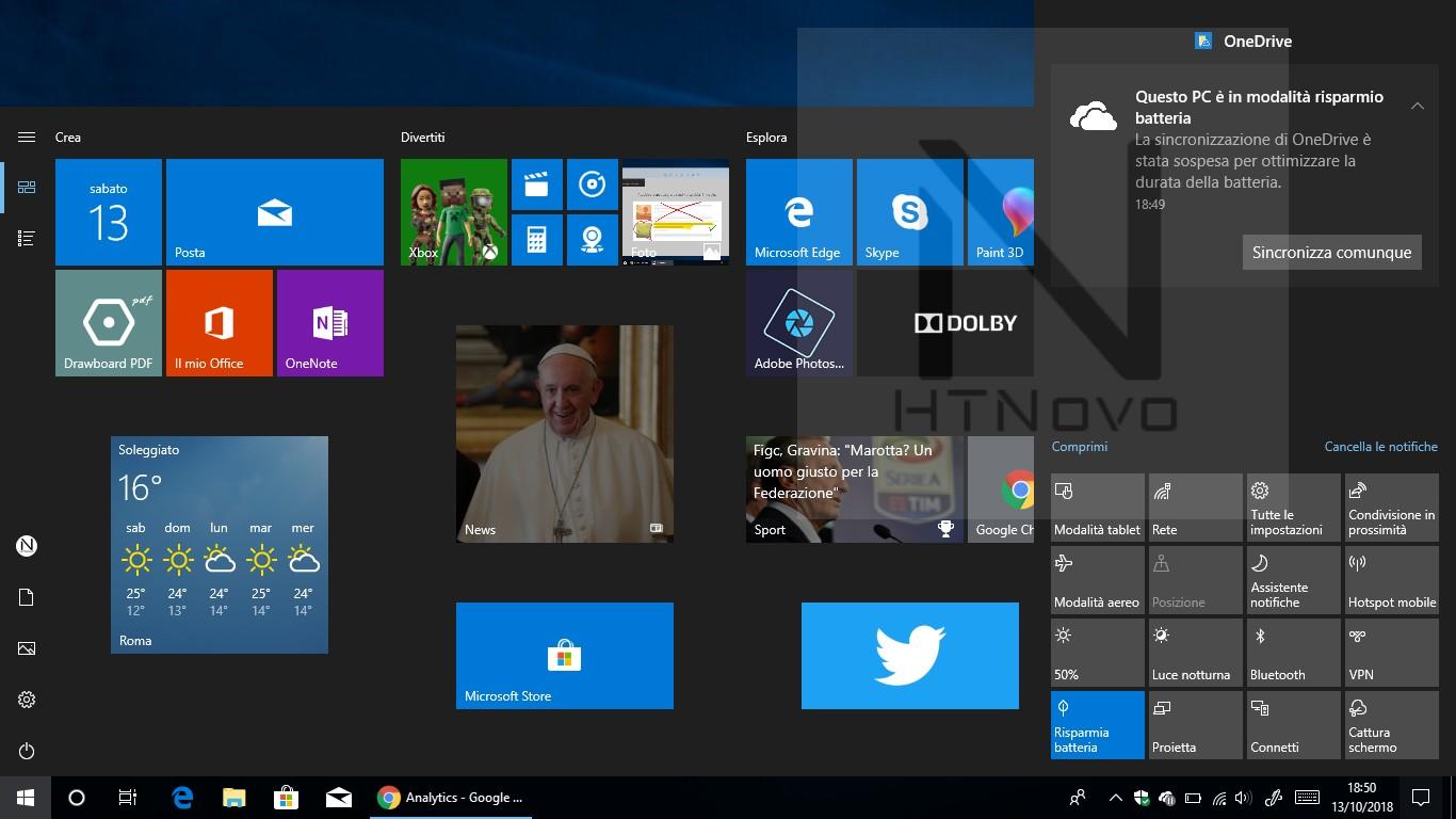 OneDrive-sospeso-risparmio-batteria-windows-10-versione-1809