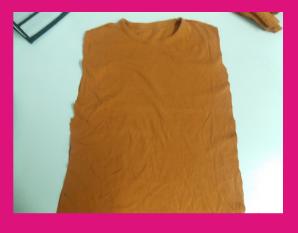Reciclamos una camiseta para hacer una bolsa