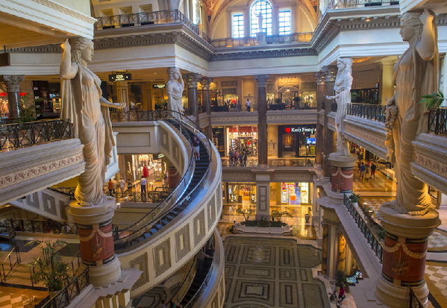 Shopping The Forum Shops At Caesars Palace: