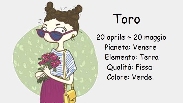 Oroscopo aprile 2020 Toro
