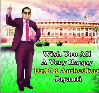 Dr.B.R.Ambedkar Jayanthi Wishes Images
