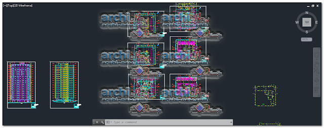 download-autocad-cad-dwg-file-residential-complex-building