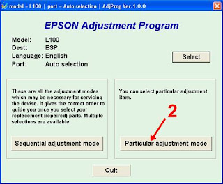 Epson L100 & L200 Service Required