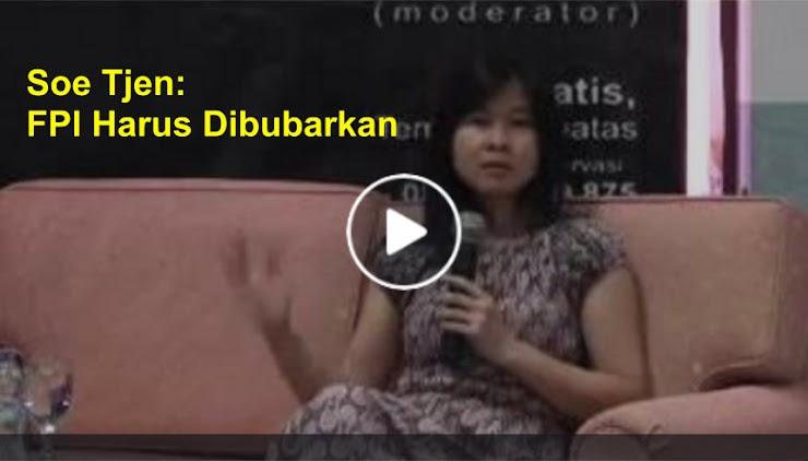 Soe Tjen: FPI Harus Dibubarkan