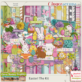 Easter! The Kit by Clever Monkey Graphics, Joyful Heart Designs