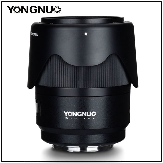 Yongnuo YN 35mm f/1.4 с бледной, установленной наоборот