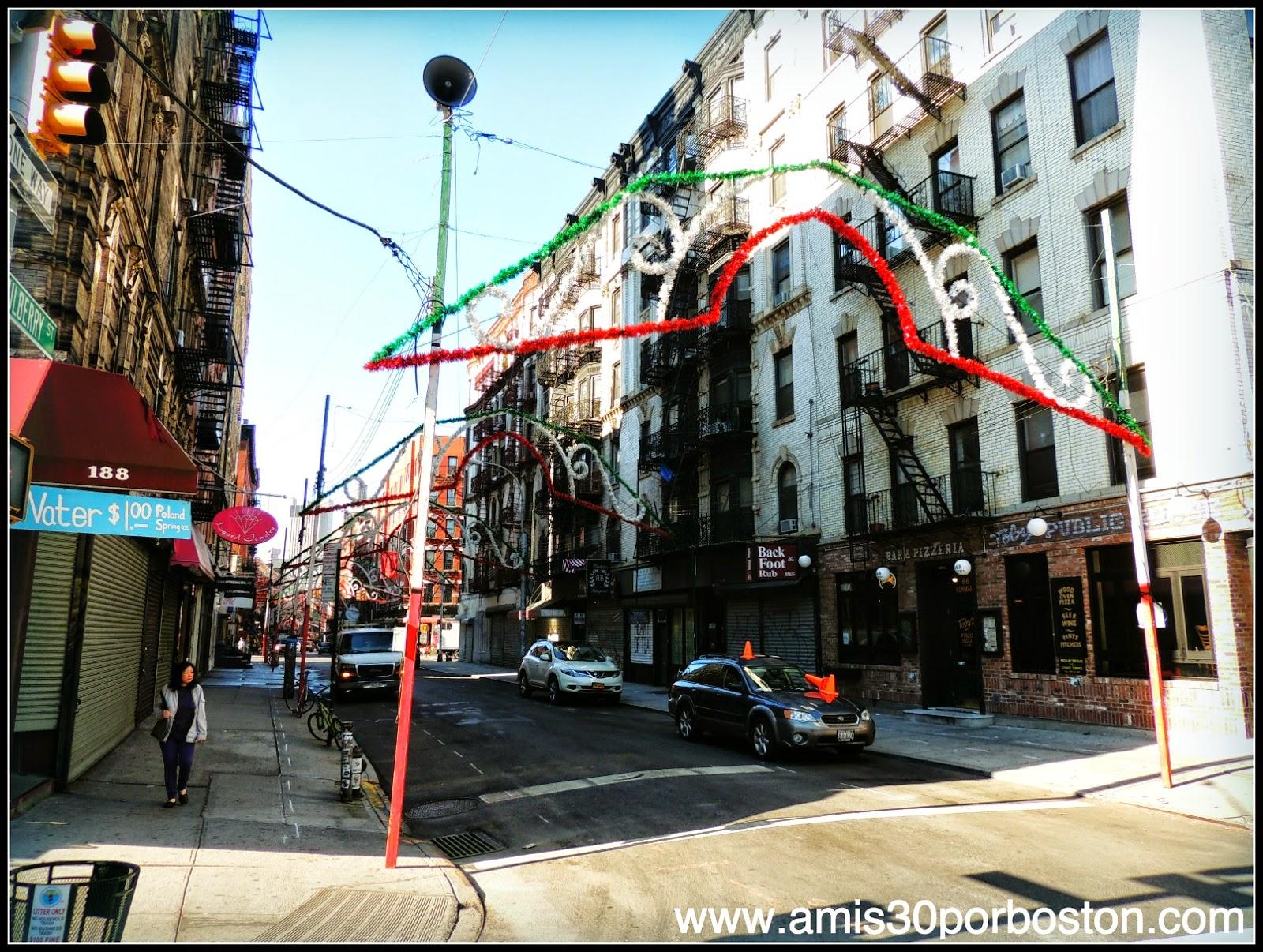 Segunda Visita a Nueva York: Little Italy