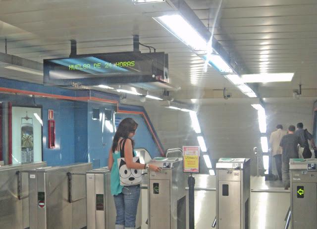 Huelga de metro y EMT este viernes en Madrid